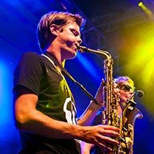 John And Mr Smith DJ Sax Saxofoon Saxofonist Gala Bedrijfsfeest Bruiloft